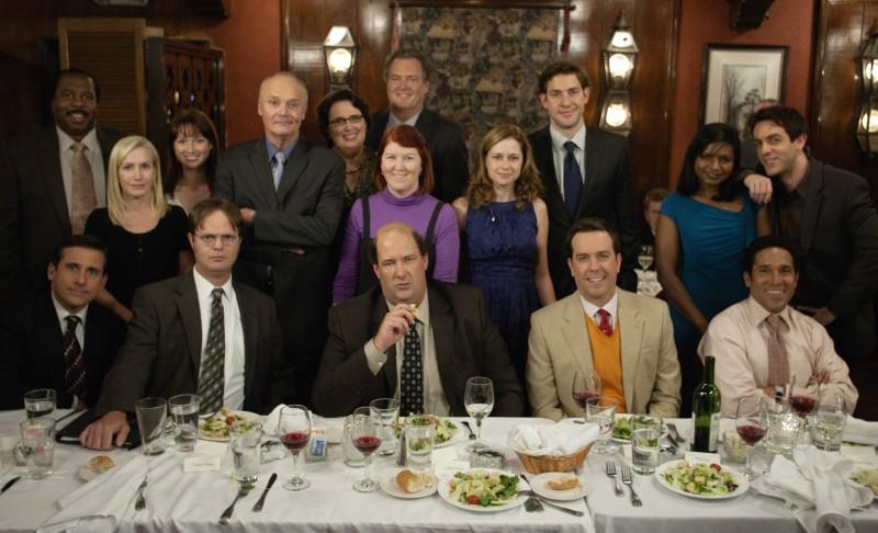 The Office (US) : Photo Angela Kinsey, B.J. Novak, Brian Baumgartner, Creed Bratton, Ed Helms