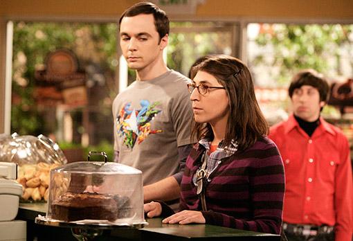 The Big Bang Theory : Photo Jim Parsons, Mayim Bialik