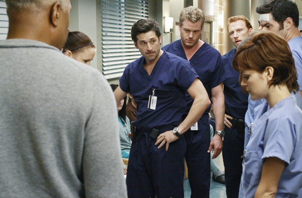 Grey's Anatomy : Photo Chyler Leigh, Eric Dane, James Pickens Jr., Kevin McKidd, Nora Zehetner