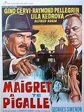 Maigret à Pigalle : Affiche