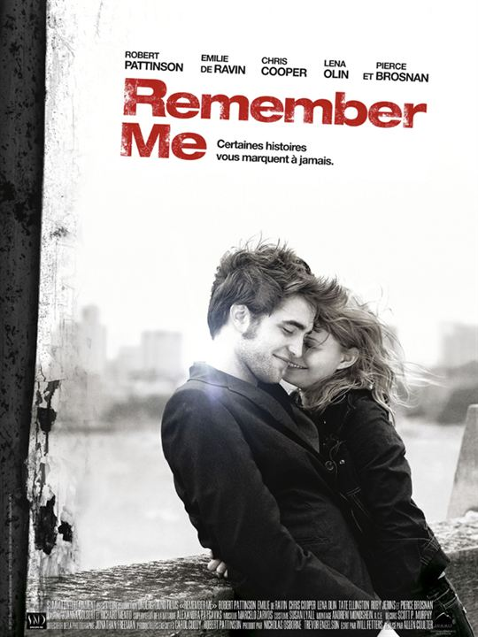 Remember Me : Affiche Allen Coulter