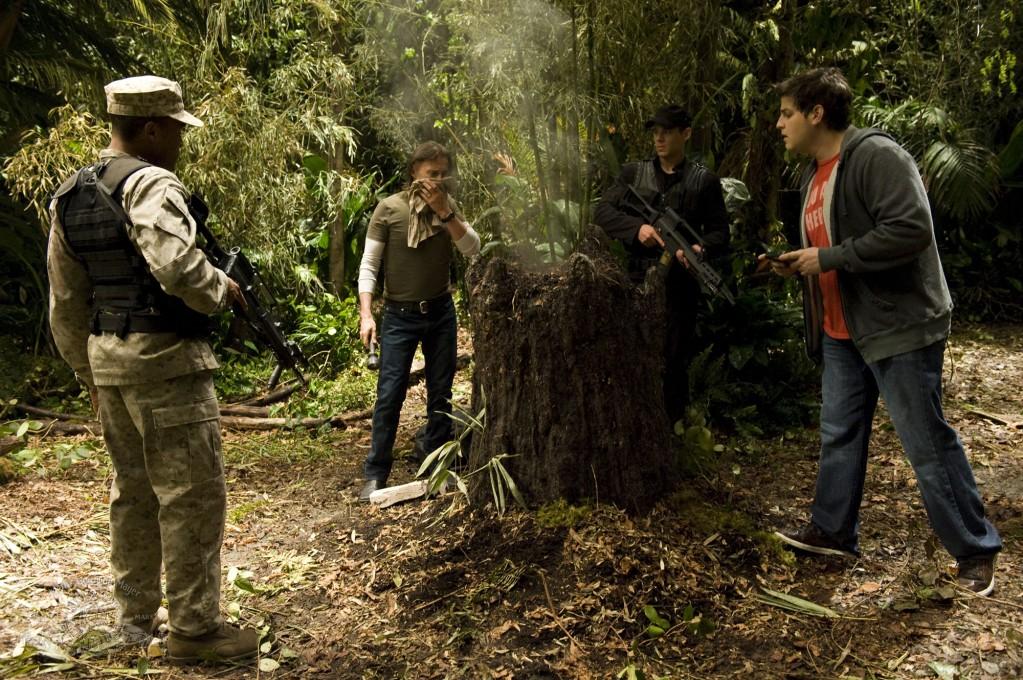 Stargate Universe : Photo Brian J. Smith, David Blue, Jamil Walker Smith, Robert Carlyle