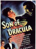 Le Fils de Dracula : Affiche