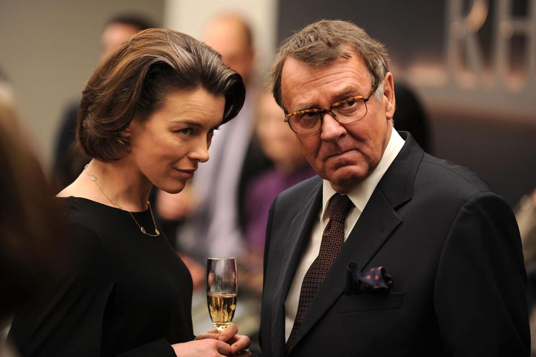 The Ghost Writer : Photo Olivia Williams, Tom Wilkinson