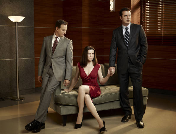The Good Wife : Photo Chris Noth, Josh Charles, Julianna Margulies