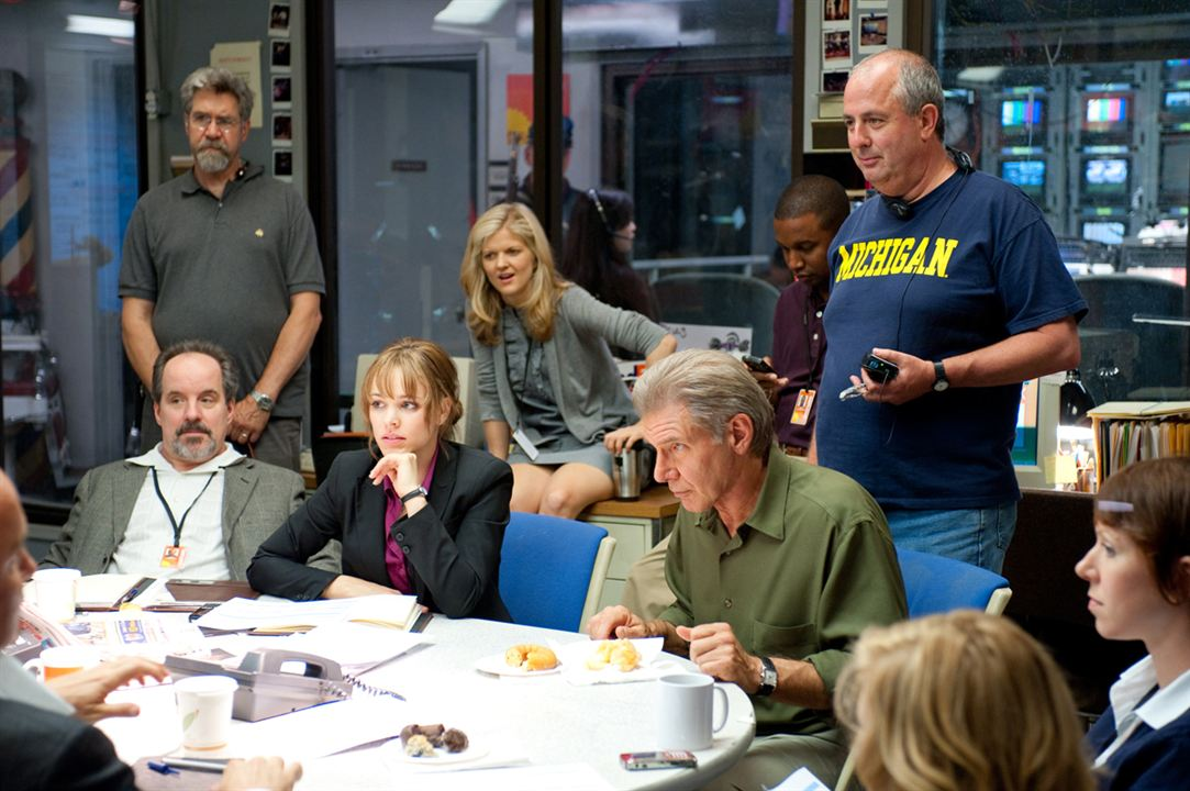 Morning Glory : photo Harrison Ford, John Pankow, Rachel McAdams, Roger Michell