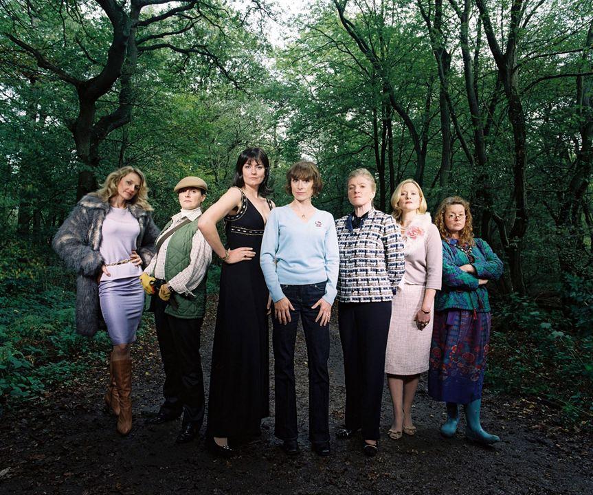 Les Flingueuses : Photo Amelia Bullmore, Anna Chancellor, Cathryn Bradshaw, Emma Kennedy, Felicity Montagu