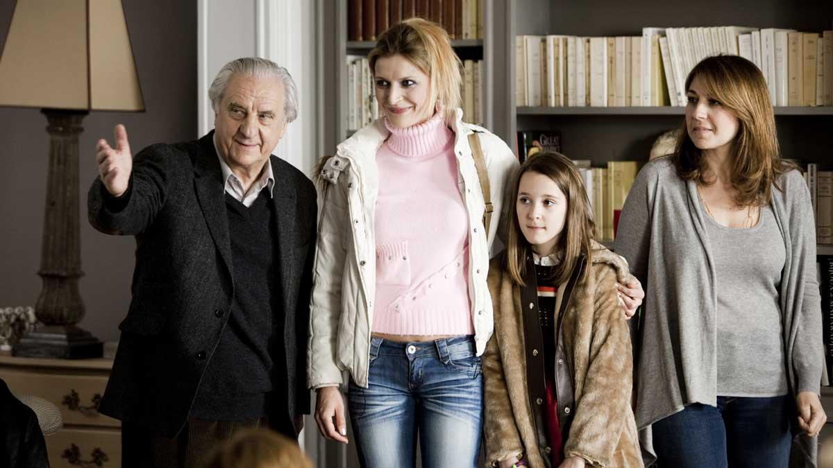 Les Invités de mon père : Photo Emma Siniavski, Michel Aumont, Valérie Benguigui, Véronica Novak