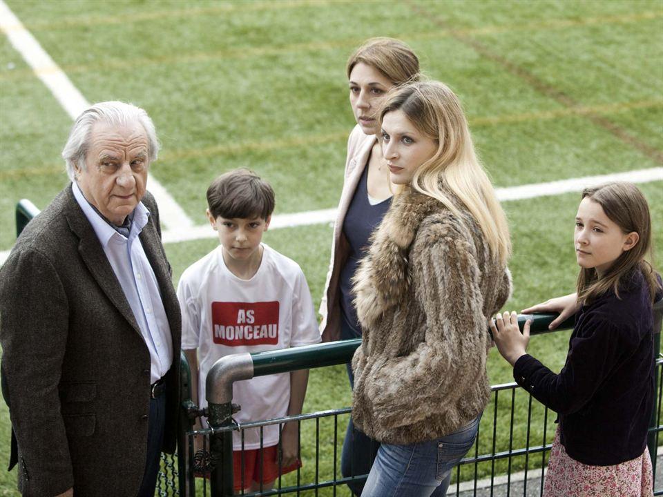 Les Invités de mon père : Photo Anne Le Ny, Max Renaudin, Michel Aumont, Valérie Benguigui, Véronica Novak