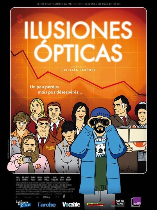 Ilusiones Opticas : affiche Cristian Jimenez