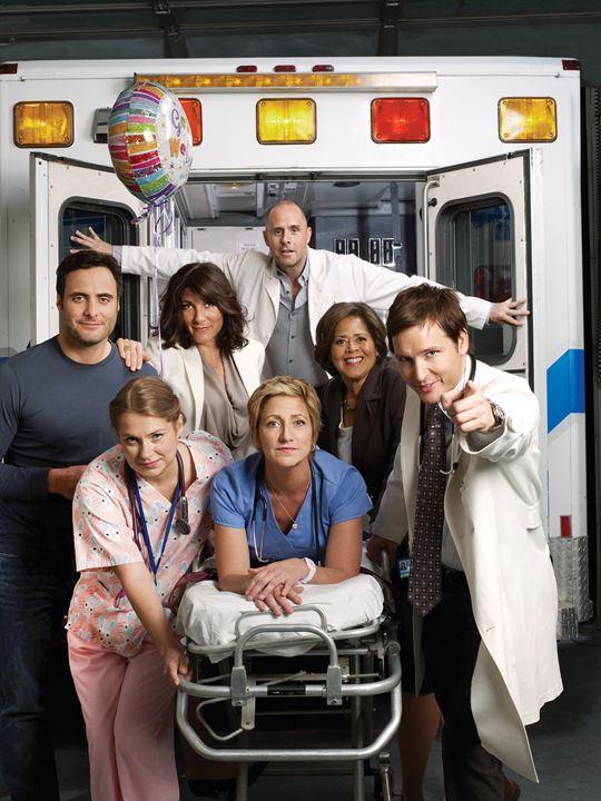 Nurse Jackie : Photo Anna Deavere Smith, Dominic Fumusa, Edie Falco, Eve Best, Merritt Wever