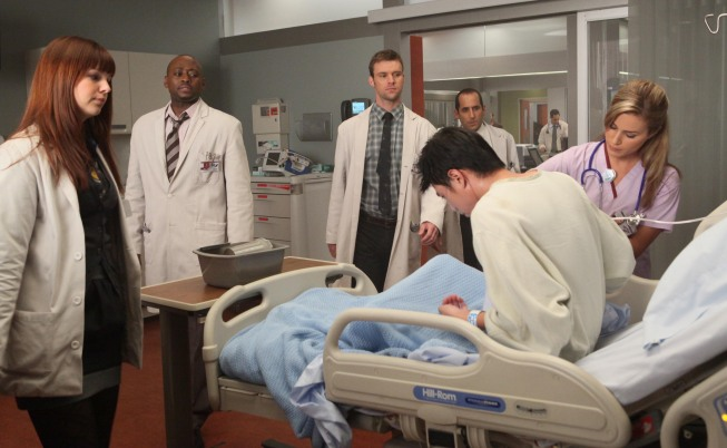 Dr House : Photo Amber Tamblyn, Jesse Spencer, Omar Epps, Peter Jacobson
