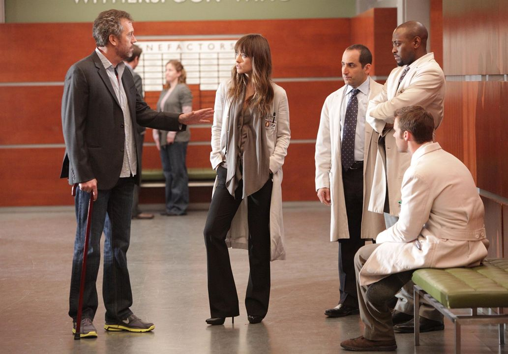 Photo Hugh Laurie, Jesse Spencer, Olivia Wilde, Omar Epps, Peter Jacobson