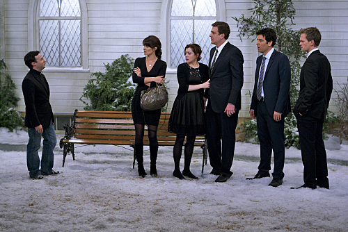 How I Met Your Mother : Photo Alyson Hannigan, Cobie Smulders, Danny Strong, Jason Segel, Josh Radnor