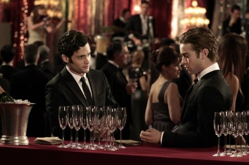 Photo Chace Crawford, Penn Badgley