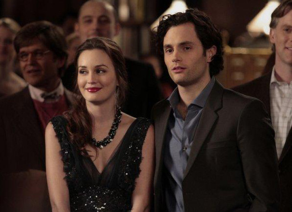 Photo Leighton Meester, Penn Badgley