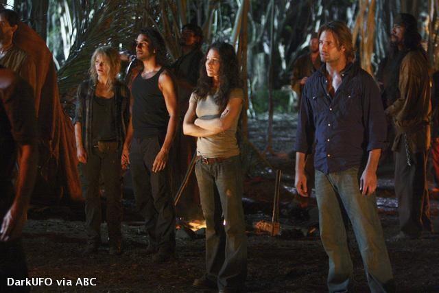 Lost, les disparus : Photo Emilie de Ravin, Evangeline Lilly, Josh Holloway, Naveen Andrews