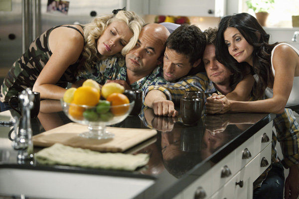 Cougar Town : Photo Busy Philipps, Courteney Cox, Dan Byrd, Ian Gomez, Josh Hopkins