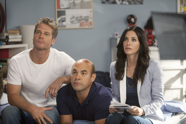Cougar Town : Photo Brian Van Holt, Courteney Cox, Ian Gomez