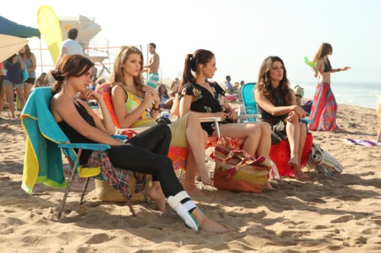 Photo AnnaLynne McCord, Jessica Lowndes, Jessica Stroup, Shenae Grimes-Beech