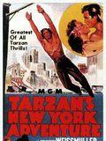 Les Aventures de Tarzan à New York : Affiche