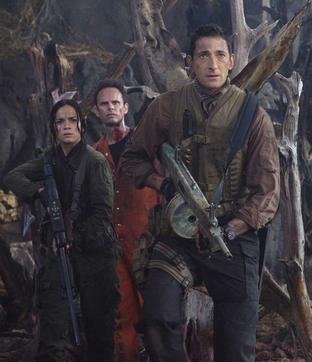 Predators : Photo Adrien Brody, Alice Braga, Walton Goggins