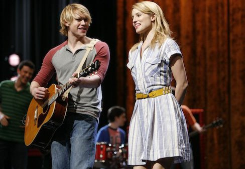 Photo Chord Overstreet, Dianna Agron