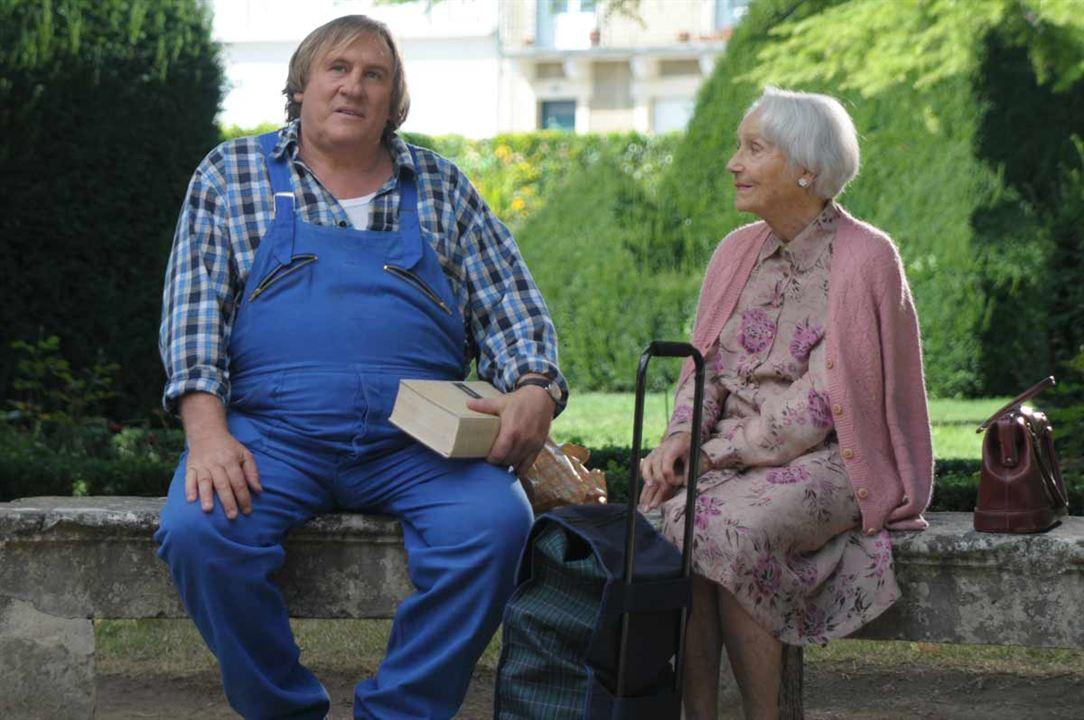 La Tête en friche : Photo Gérard Depardieu, Gisèle Casadesus