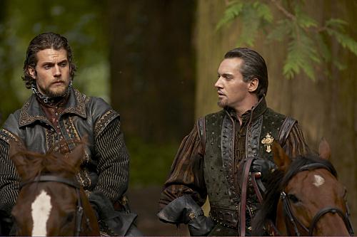 Les Tudors : Photo Henry Cavill, Jonathan Rhys-Meyers