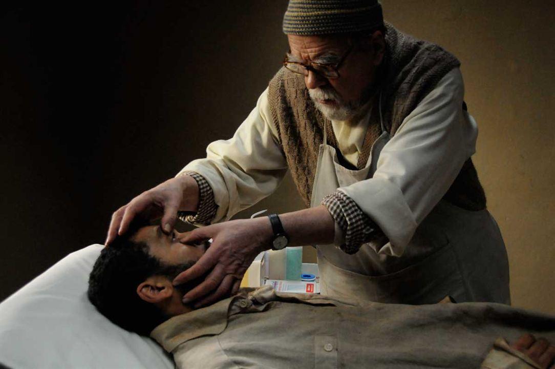 Des hommes et des dieux : Photo Adel Bencherif, Michael Lonsdale