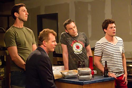Photo Aidan Quinn, Hunter Parrish, Justin Kirk, Pablo Schreiber