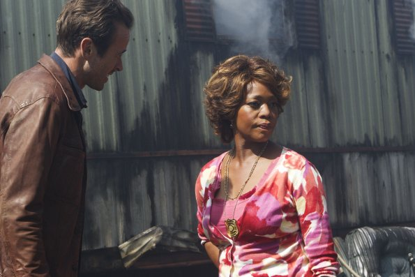 Photo Alfre Woodard, Jason Lee