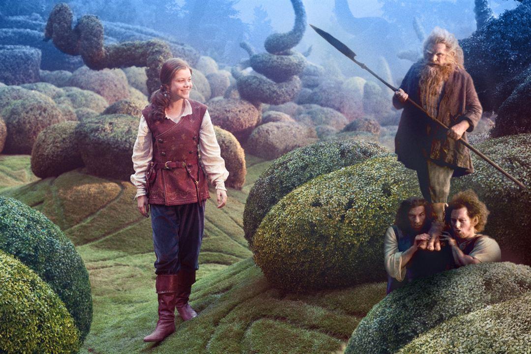 Le Monde de Narnia : L'Odyssée du Passeur d'aurore : Photo Georgie Henley, Michael Apted