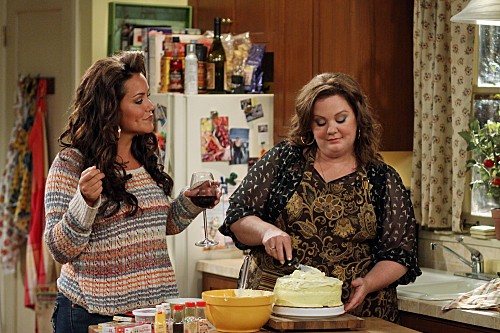 Photo Katy Mixon, Melissa McCarthy