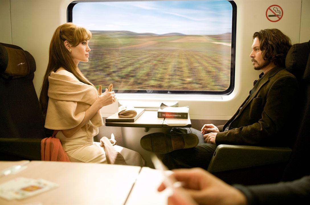 The Tourist : Photo Angelina Jolie, Florian Henckel von Donnersmarck, Johnny Depp