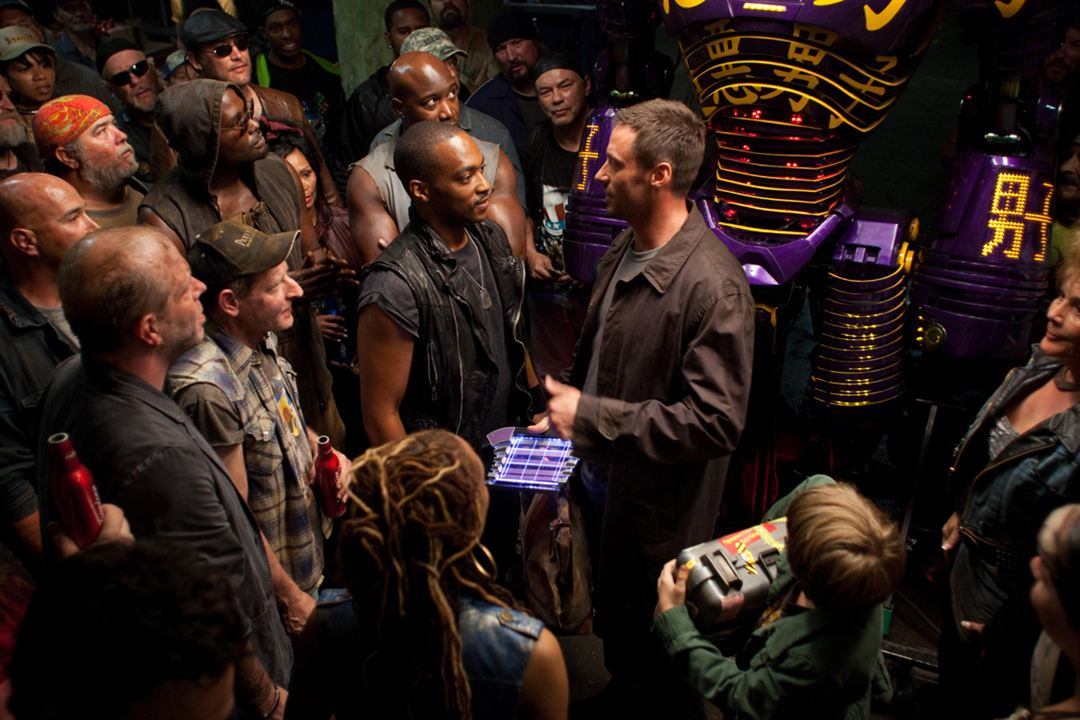 Real Steel : Photo Anthony Mackie, Hugh Jackman