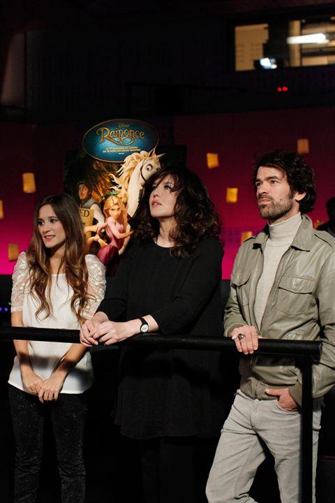 Raiponce : Photo Isabelle Adjani, Maeva Méline, Nathan Greno, Romain Duris