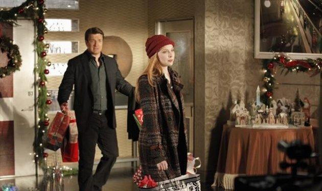 Photo Molly C. Quinn, Nathan Fillion