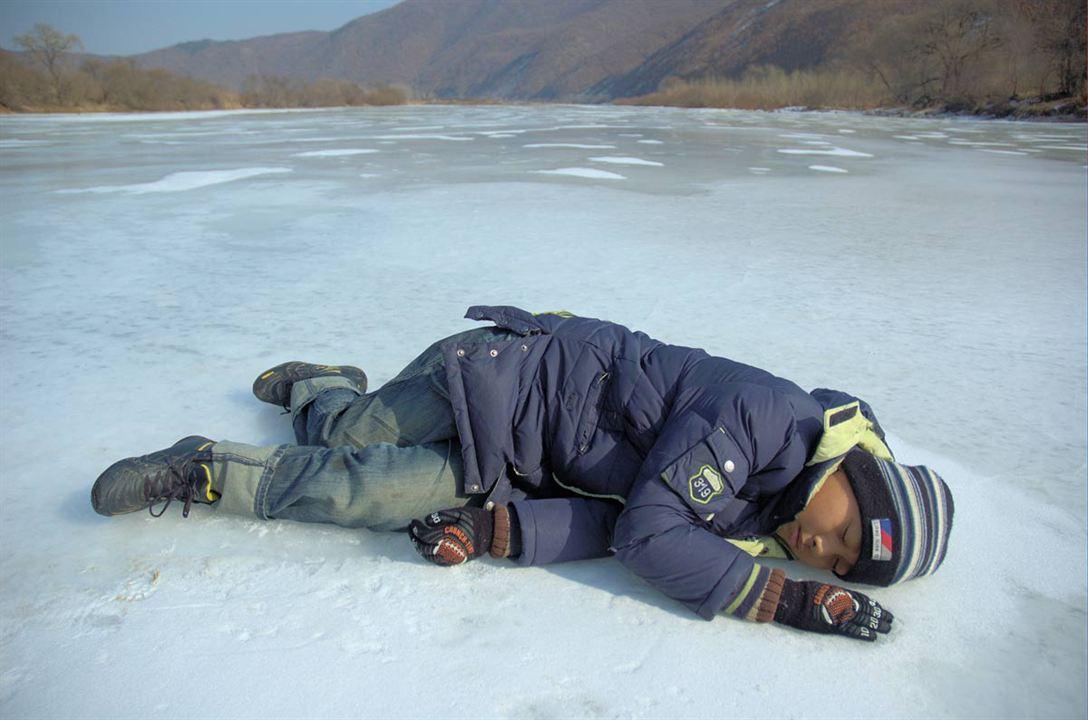 La Rivière Tumen : Photo Zhang Lu