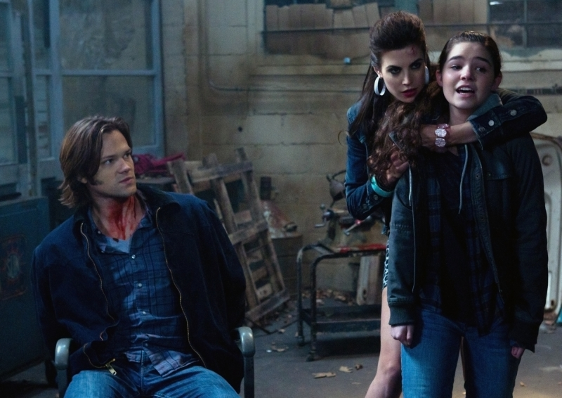 Photo Jared Padalecki, Madison McLaughlin, Meghan Ory