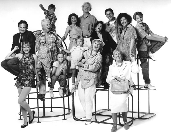 Parenthood (1990) : Photo Bess Meyer, David Arquette, Ed Begley Jr., Ivyann Schwan, Jayne Atkinson