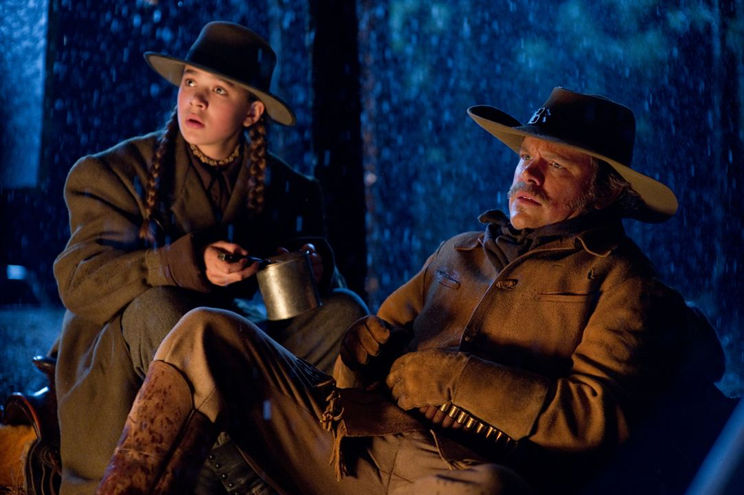 True Grit : Photo Hailee Steinfeld, Matt Damon