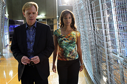 Photo David Caruso, Eva LaRue