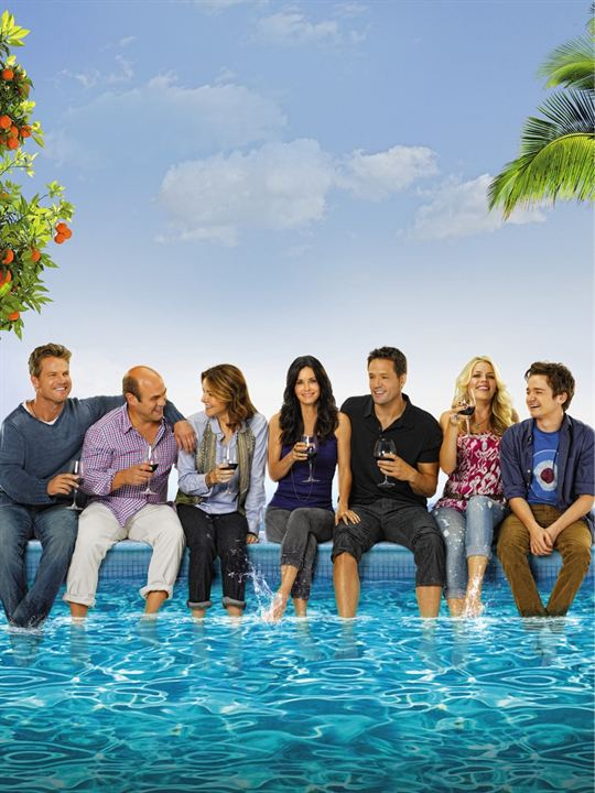 Cougar Town : Photo Brian Van Holt, Busy Philipps, Christa Miller-Lawrence, Courteney Cox, Dan Byrd