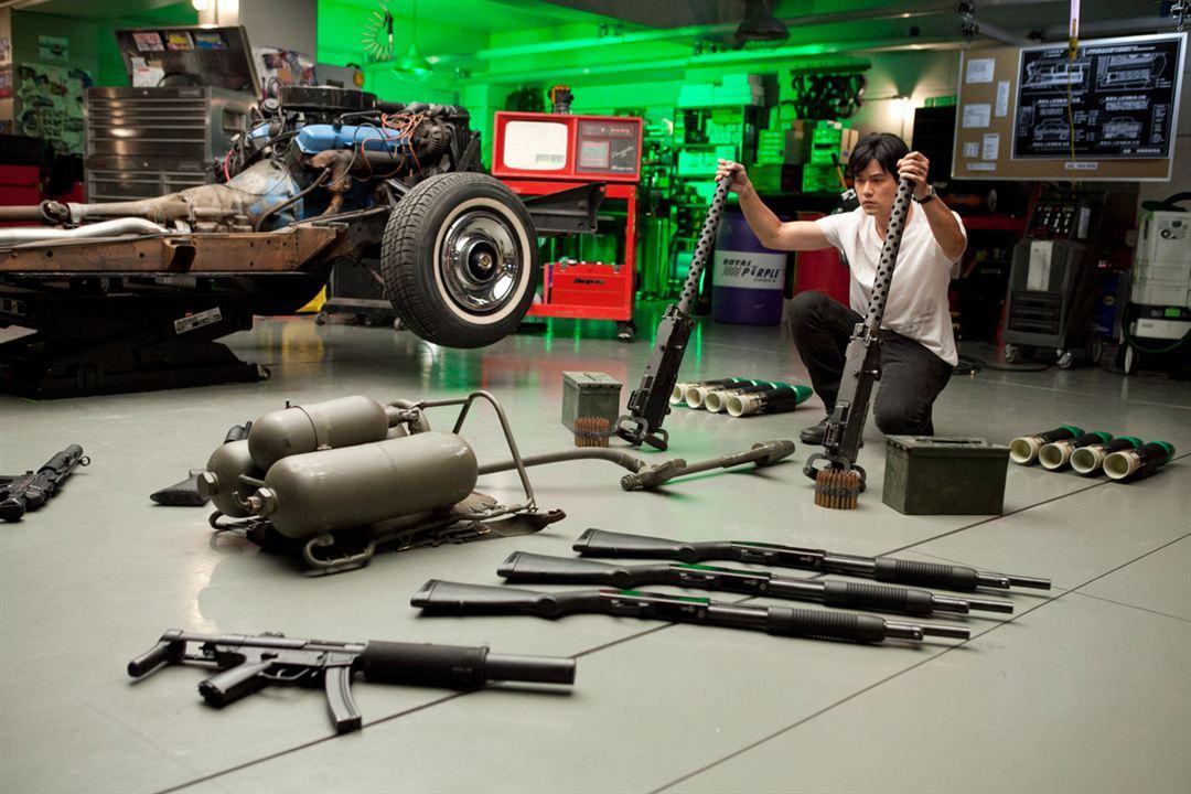 The Green Hornet : Photo Jay Chou, Michel Gondry