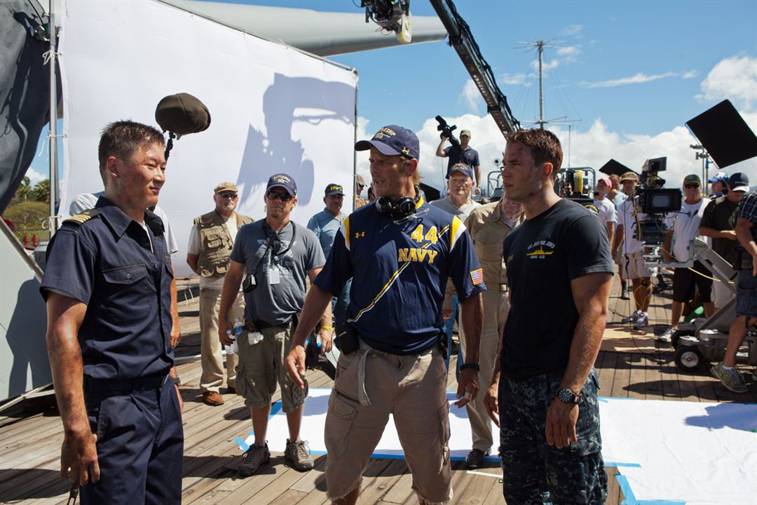 Battleship : Photo Peter Berg, Tadanobu Asano, Taylor Kitsch