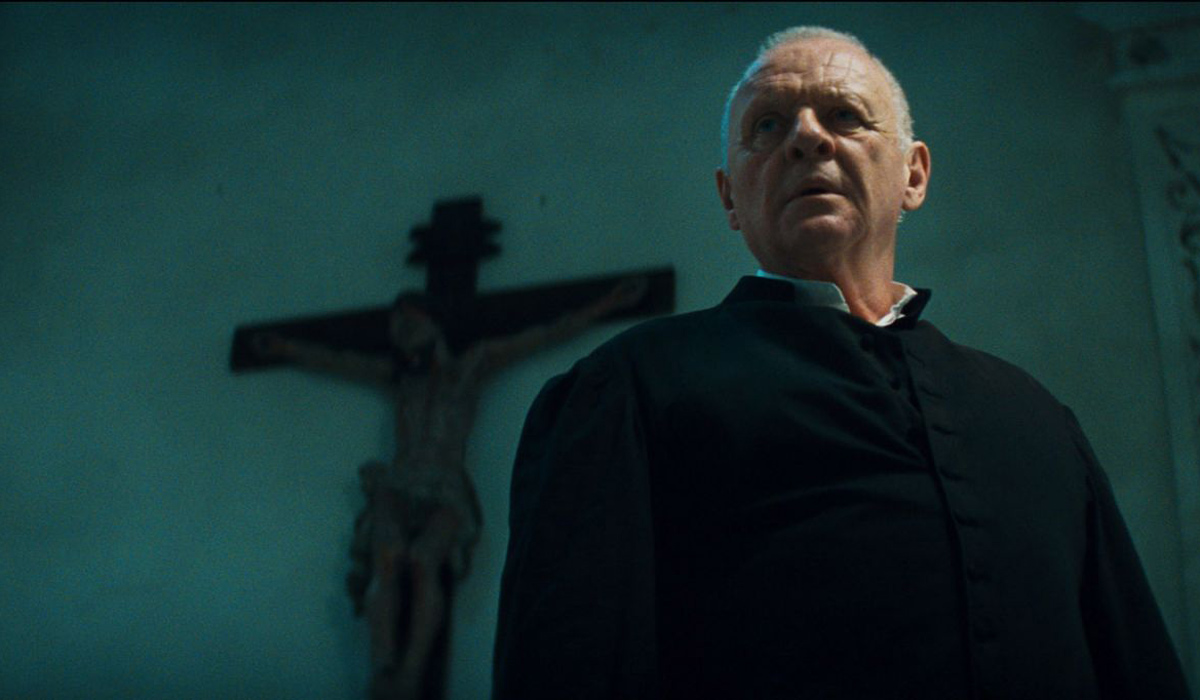 Le Rite : photo Anthony Hopkins, Mikael Hafstrom