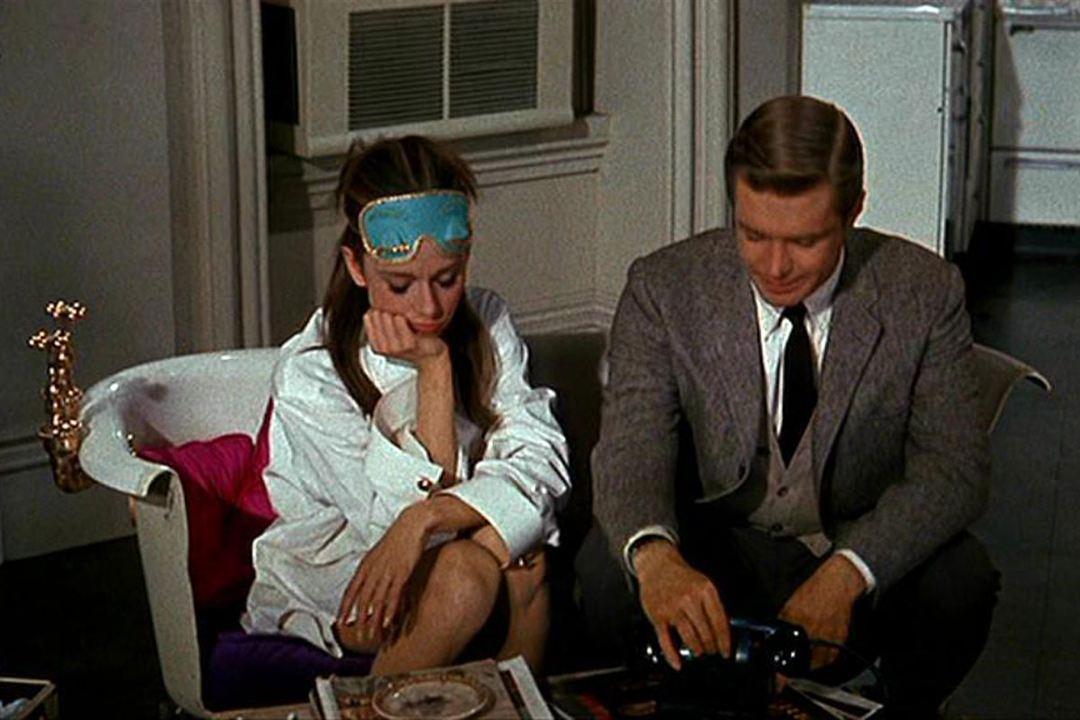 Diamants sur canapé : Photo Audrey Hepburn, George Peppard