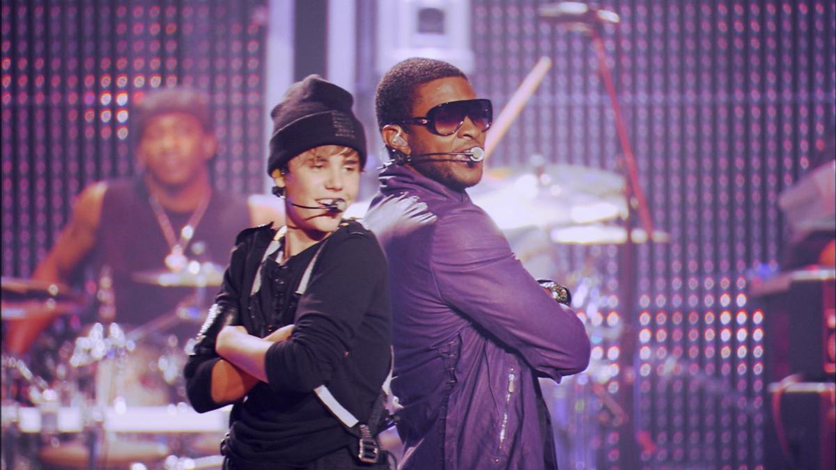 Justin Bieber: Never Say Never : Photo Jon M. Chu, Justin Bieber, Usher