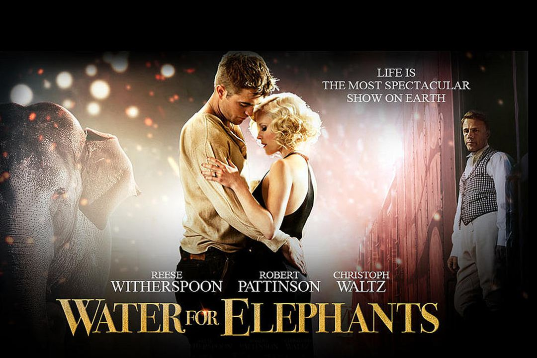 De l'eau pour les éléphants : Photo Reese Witherspoon, Robert Pattinson